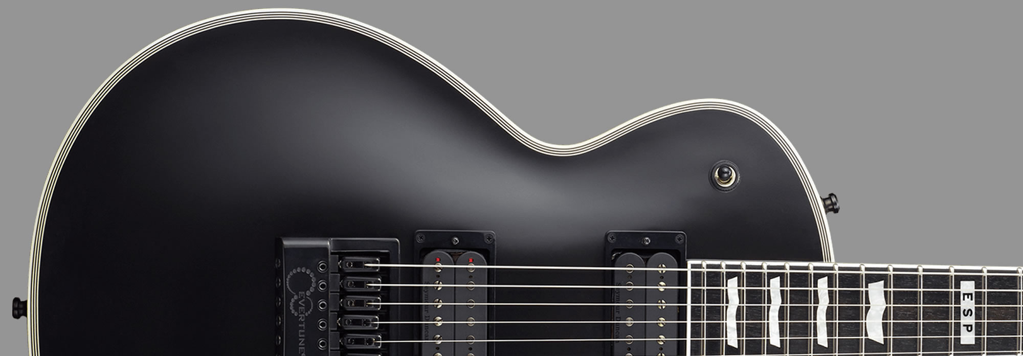 E-II Eclipse Evertune Black Satin