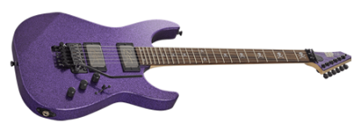 ESP Kirk Hammett KH-2 Purple Sparkle