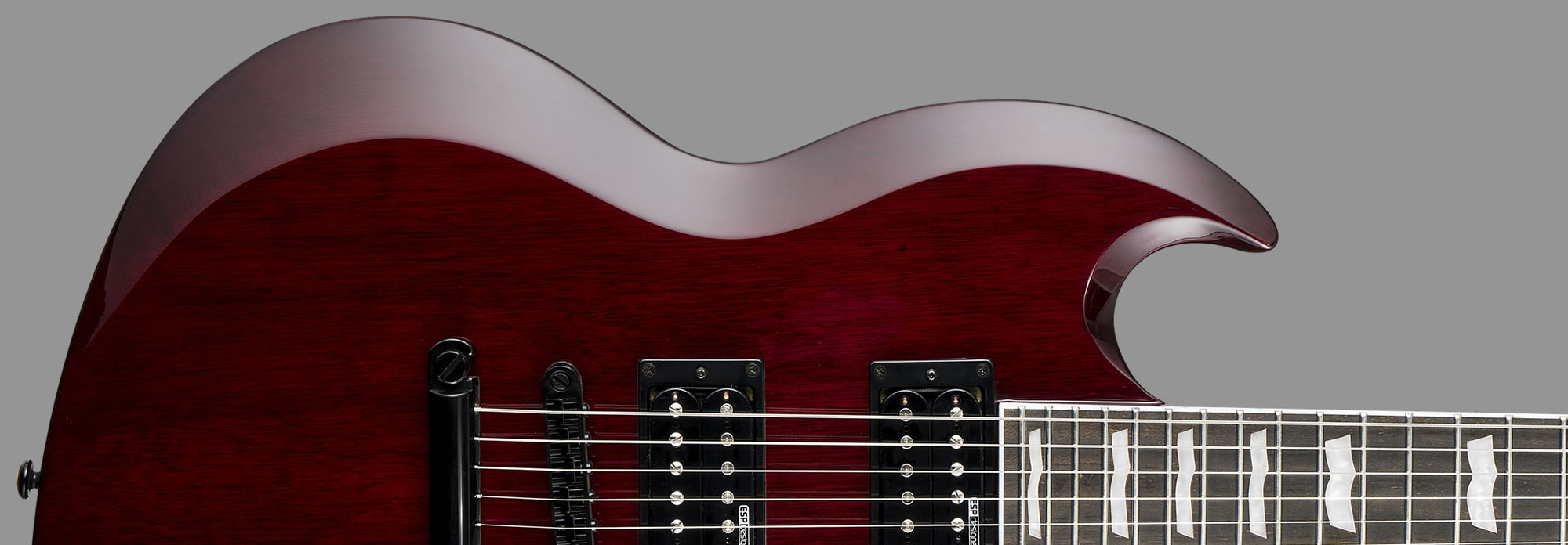 ESP LTD Viper-256 See-Thru Black Cherry
