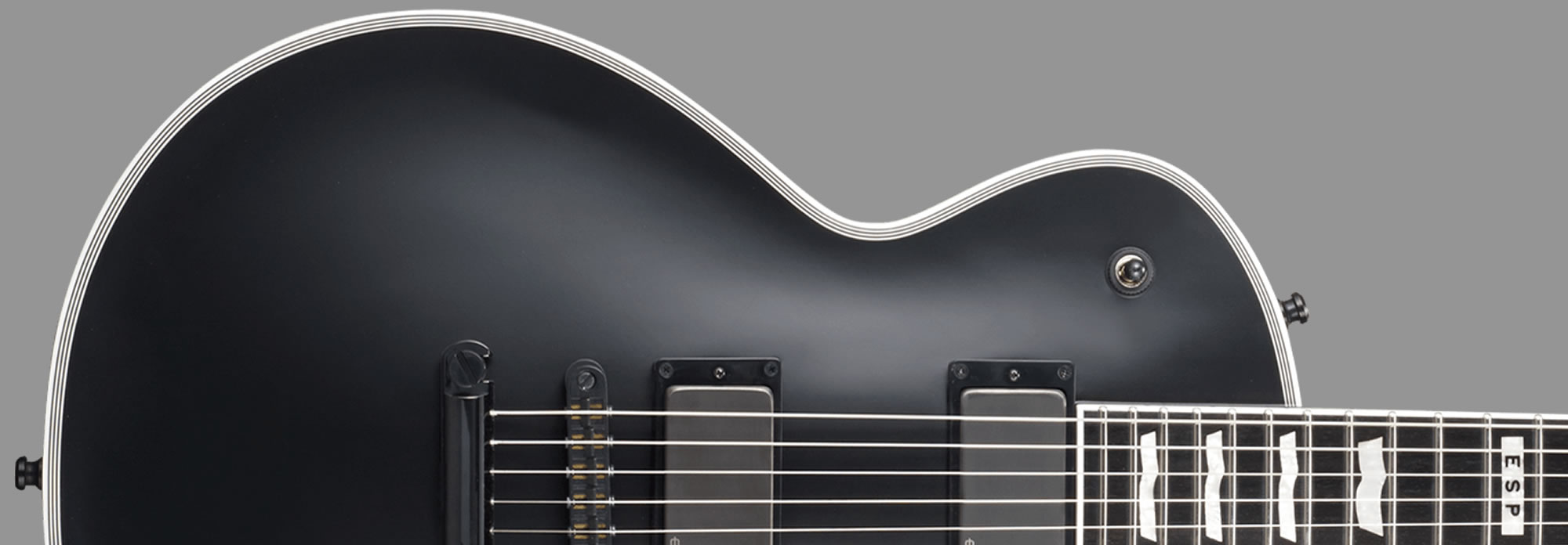 E-II Eclipse EMG Black Satin