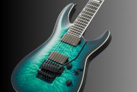 Horizon FR-7 QM Black Turquoise Burst