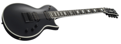 E-II Eclipse-7 Evertune Black Satin