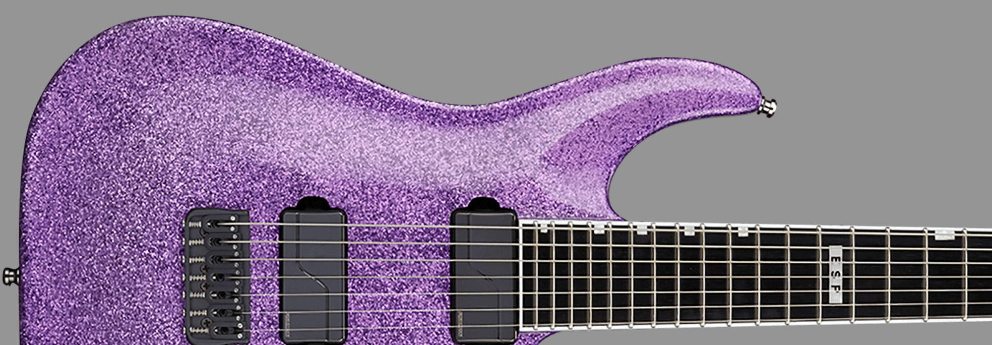E-II Horizon NT-7B Hipshot Purple Sparkle