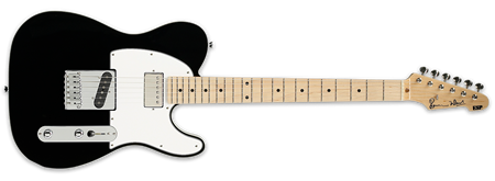 ESP Ron Wood Black