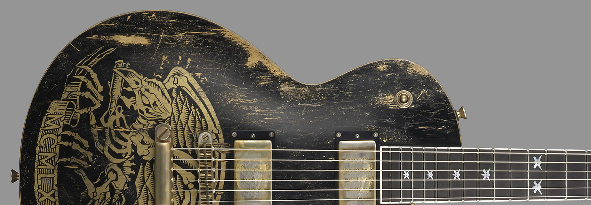 ESP Will Adler Warbird Distressed