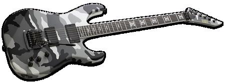 ESP Jeff Hanneman Urban Camo