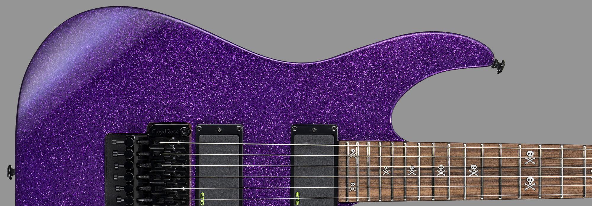 ESP LTD Kirk Hammett KH-602 Purple Sparkle