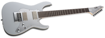 ESP LTD KS M-7 Metallic Silver