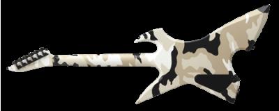 ESP Max Cavalera Black Desert Camo