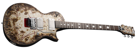ESP Richard Z RZK-II Burnt