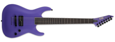 ESP LTD Stephen Carpenter SC-607 Baritone Purple Satin