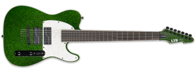 ESP LTD Stephen Carpenter SCT-607 Baritone Green Sparkle