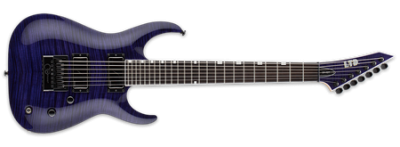 ESP LTD SH-7 Evertune See-Thru Purple