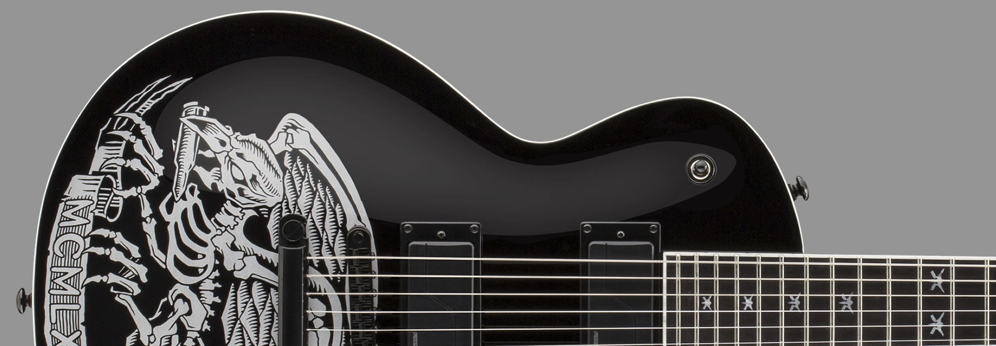 LTD Will Adler Warbird Fluence Black