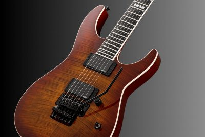 E-II M-II Neck-Thru Amber Cherry Sunburst