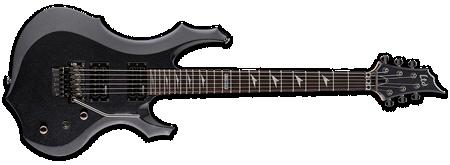 ESP LTD F-200FR Charcoal Metallic