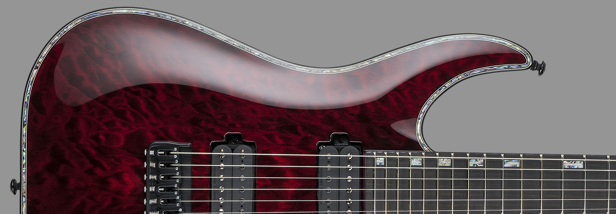 ESP LTD H-1001 See-Thru Black Cherry