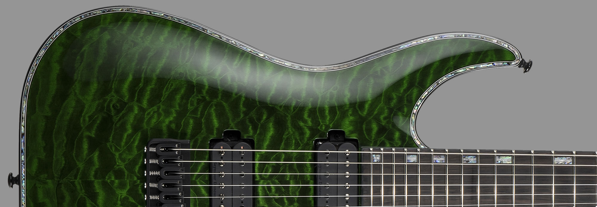 ESP LTD H-1001 See-Thru Green