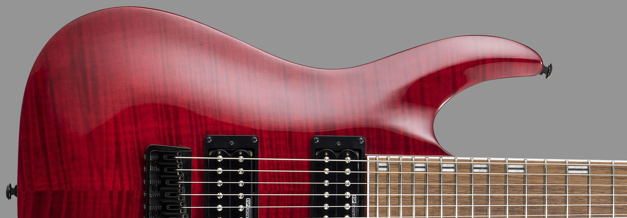 ESP LTD H-200FM See-Thru Red