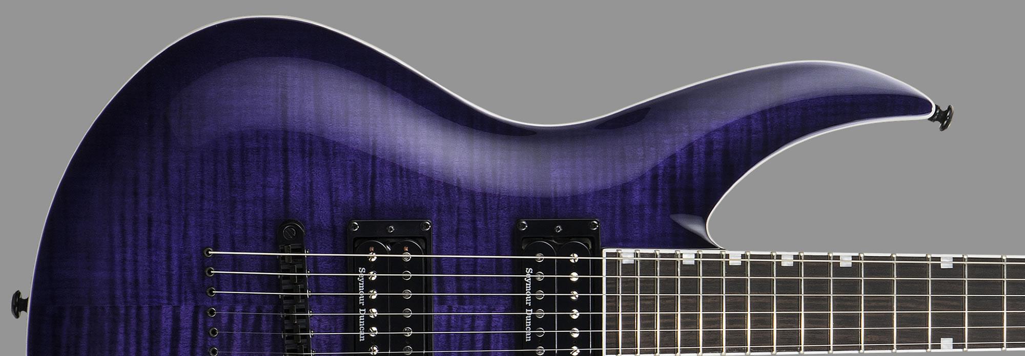 ESP LTD H3-1000 See-Thru Purple Sunburst