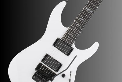 ESP LTD M-1000E Snow White