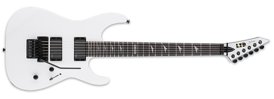 ESP LTD M-1000 Ebony Snow White