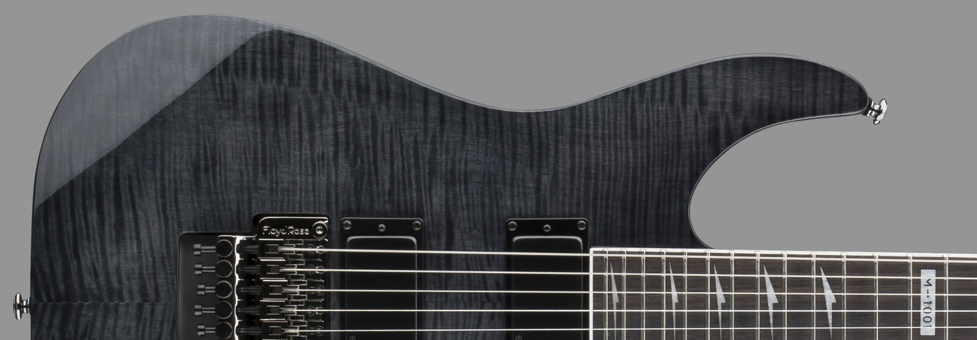 ESP LTD M-1001 See-Thru Black