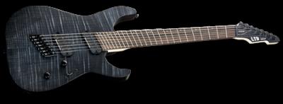 ESP LTD M-1007MS See-Thru Black Satin
