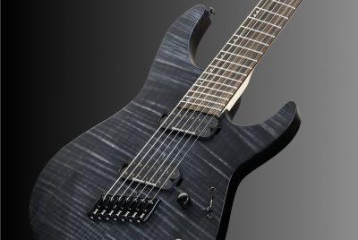 ESP LTD M-1007 Multi-Scale See-Thru Black Satin