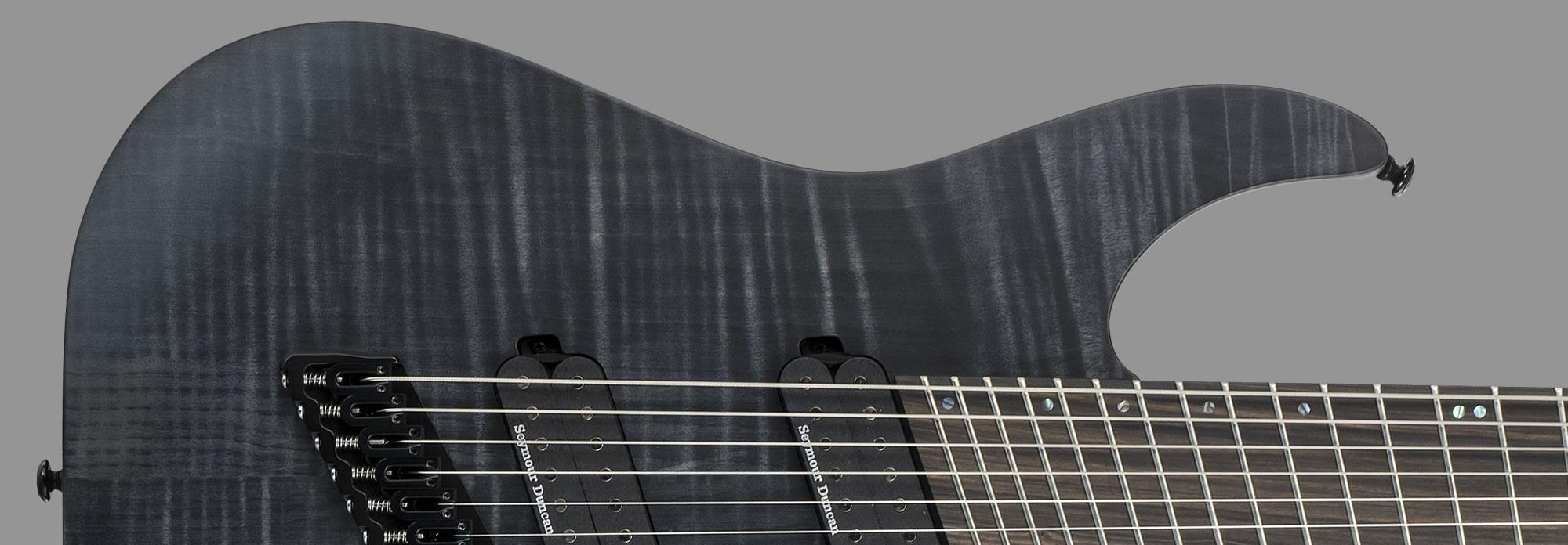 ESP LTD M-10007MS See-Thru Black