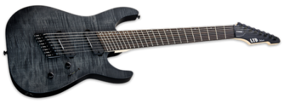 ESP LTD M-1008MS See-Thru Black Satin