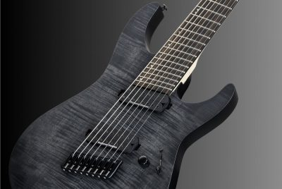 ESP LTD M-1008 Multi-Scale See-Thru Black Satin