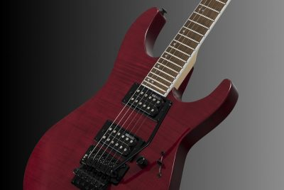 ESP LTD M-200FM See-Thru Red