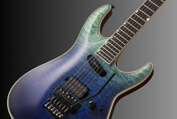 ESP LTD MH-1000HS Violet Shadow Fade