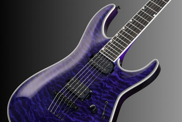 ESP LTD MH-1000NT See-Thru Purple