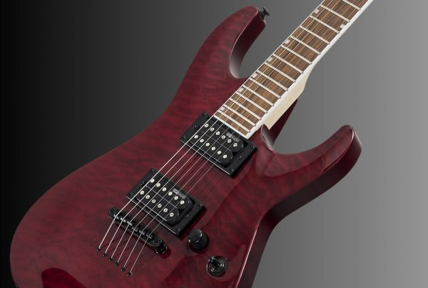 ESP LTD MH-200NT See-Thru Black Cherry