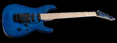 ESP LTD MH-200QM See-Thru Blue