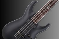 ESP LTD MH-417 Black Satin