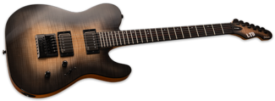 ESP LTD TE-1000 Evertune Black Natural Burst