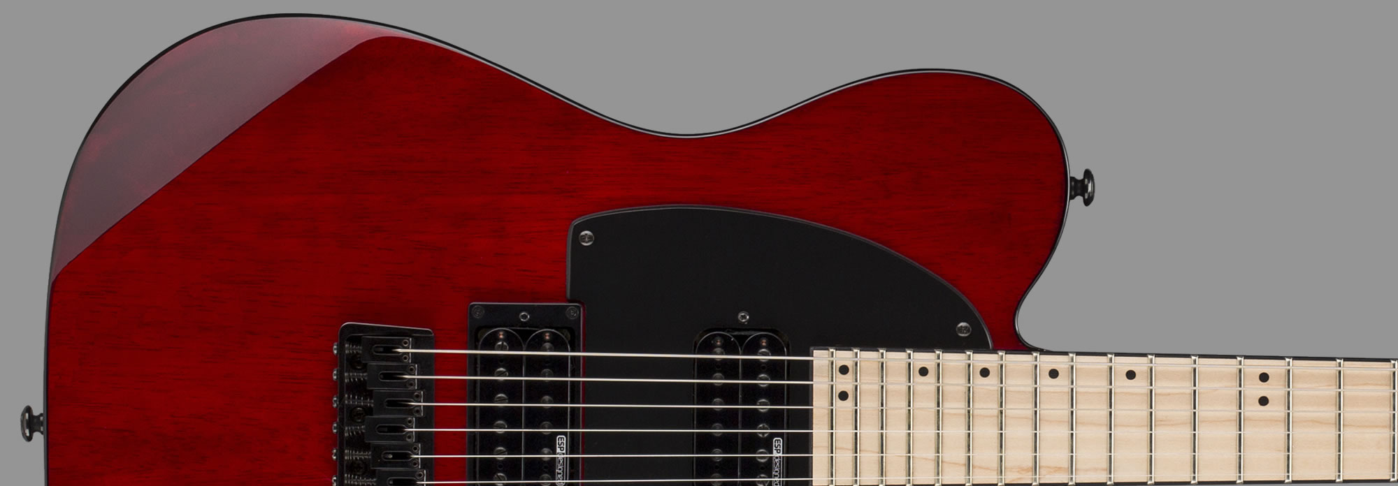 ESP LTD TE-200 See-Thru Black Cherry