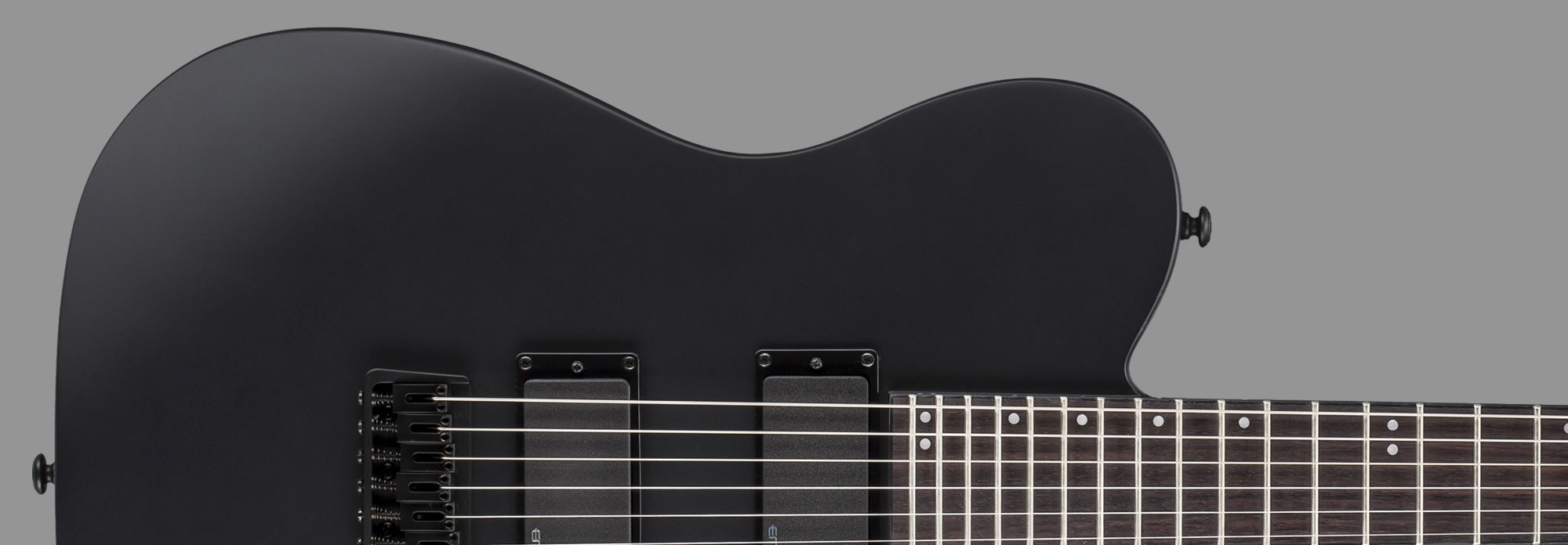 ESP LTD TE-401 Black Satin