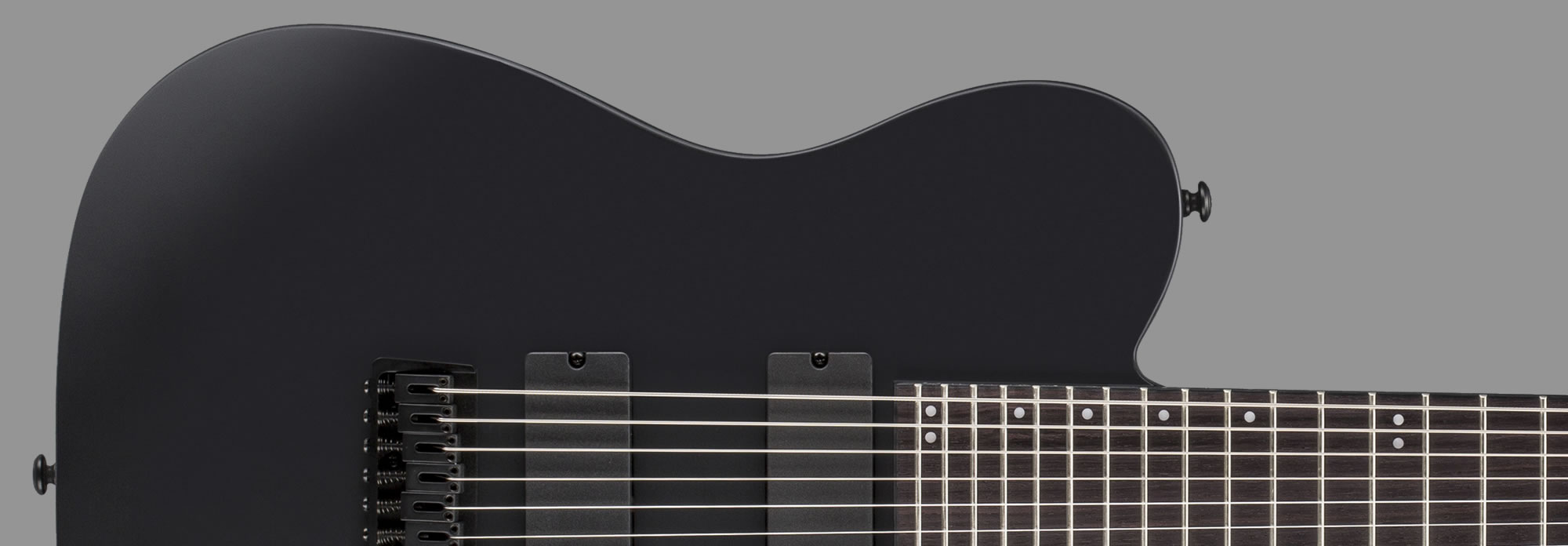 ESP LTD TE-417 Black Satin