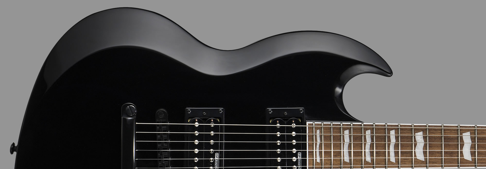 ESP LTD Viper-201B Baritone Black