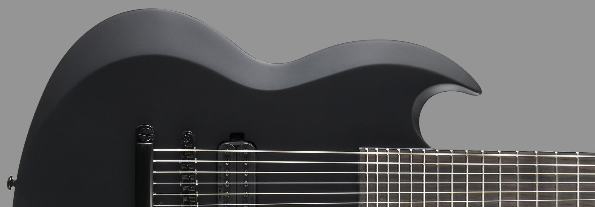 ESP LTD Viper-7 Black Metal