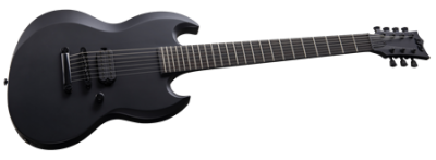 ESP LTD Viper-7B Baritone Black Metal