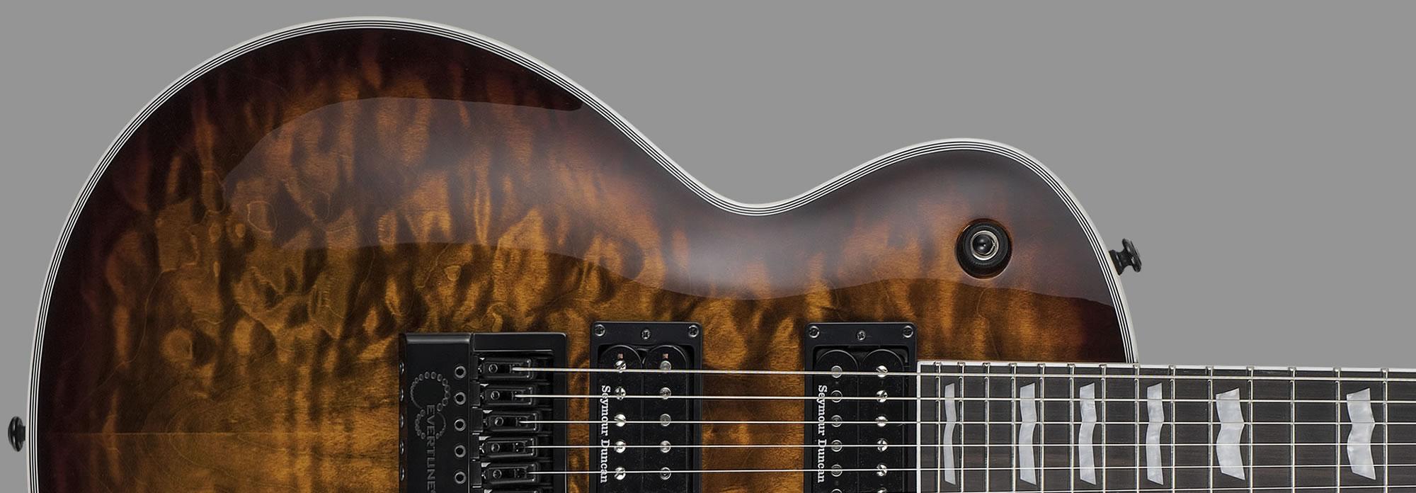 ESP LTD EC-1000ET Dark Brown Sunburst