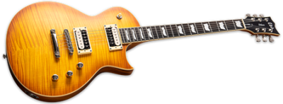 ESP LTD EC-1001T Honey Burst Satin