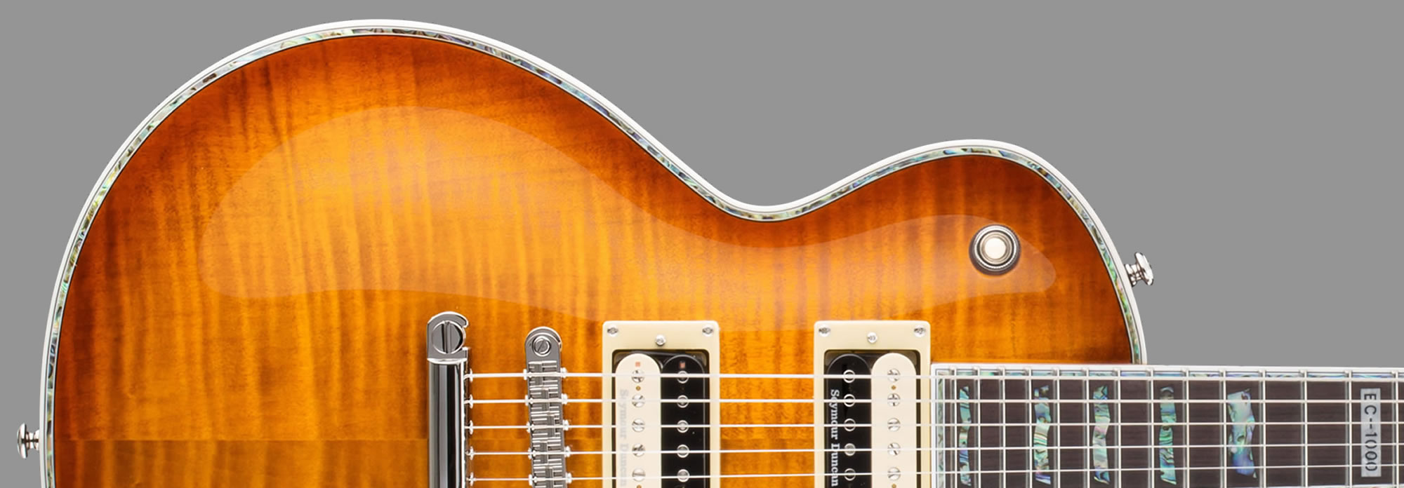 ESP LTD EC-1000 Amber Sunburst
