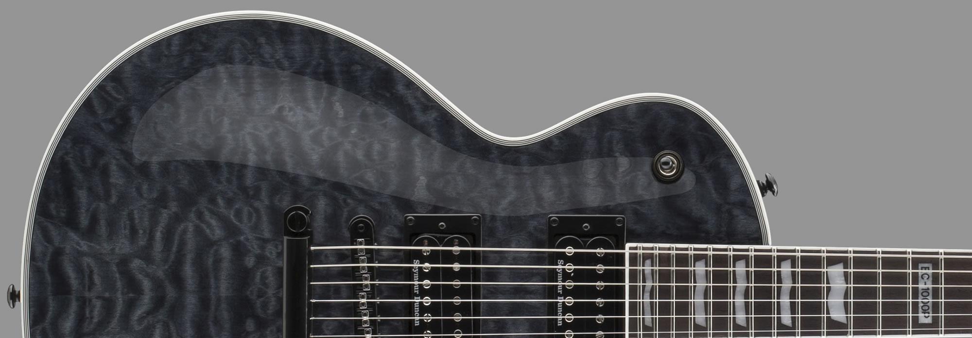 ESP LTD EC-1000 Piezo See-Thru Black