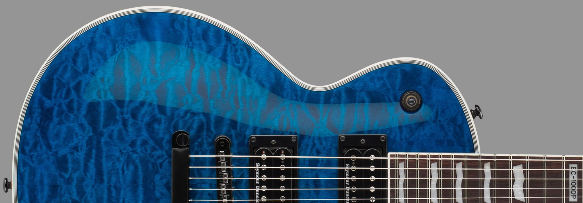 ESP LTD EC-1000 Piezo See-Thru Blue